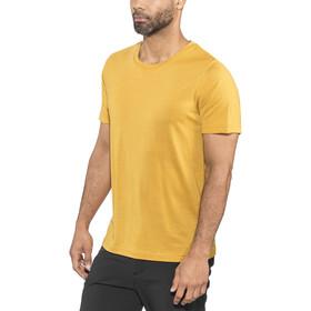 Bergans Oslo Wool Maglia a maniche corte Uomo, giallo